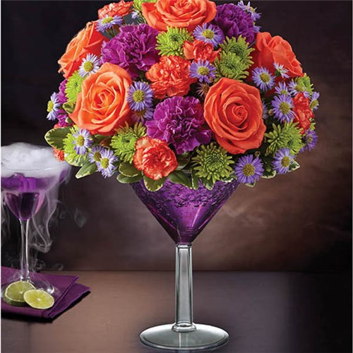 Homepage the new flowers just for you 1 800 flowers shocktail martini bouquet mightylinksfo